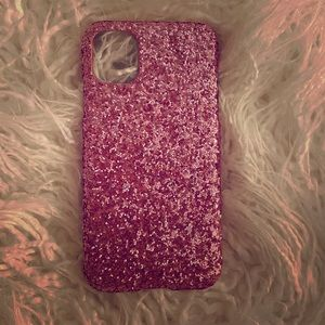 Glitter Pink iPhone 11 Case 📱✨